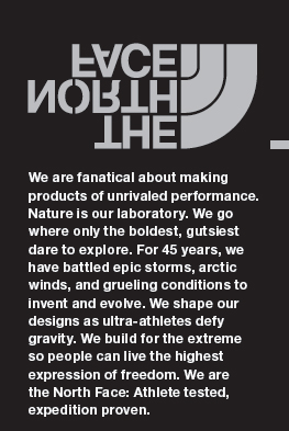 The north face collaborating with tomorrow partners design team i